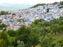 Chefchaouen Marrocos Imagens de Stock Royalty Free