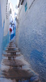 Chefchaouen Medina Alleyway Obrazy Stock