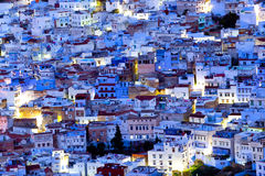 Chefchaouen Medina azul, Marruecos Imagenes de archivo