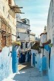 Chefchaouen medina, Marocko, Afrika Royaltyfri Bild