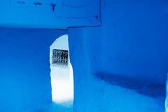 Chefchaouen medina, Marocko, Afrika Arkivbild