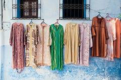 Chefchaouen medina, Marocko, Afrika Royaltyfri Fotografi