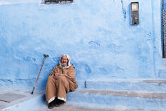Chefchaouen Medina, Maroko, Afryka Obrazy Stock