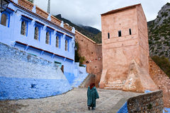 Chefchaouen Medina, Morocco Royalty Free Stock Images