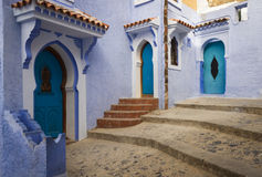 Chefchaouen medina Royalty Free Stock Image