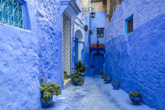 Chefchaouen medina Royalty Free Stock Images