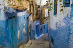 Chefchaouen medina Stock Images