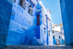 Chefchaouen, Morocco. The beautiful blue medina of Chefchaouen in Morocco Royalty Free Stock Image