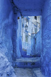 The beautiful blue medina of Chefchaouen, the pearl of Morocco. North Africa Royalty Free Stock Image