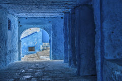 The beautiful blue medina of Chefchaouen, the pearl of Morocco. The beautiful blue medina of Chefchaouen, the pearl of Morocco - North Africa Stock Images