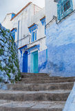 Chefchaouen Morocco, blue and white city. Royalty Free Stock Photos