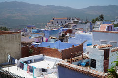 Chefchaouen in northern Morocco. Royalty Free Stock Photo