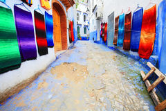 Chefchaouen Old Medina Stock Photography