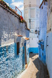 Chefchaouen Old Medina, Morocco, Africa Stock Photography