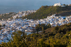 Chefchaouen panorama Stock Photos