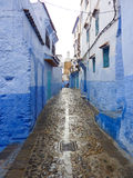 Chefchaouen Street Stock Image