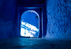 Chefchaouen streets Royalty Free Stock Photography