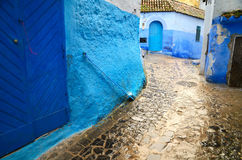 Chefchaouen town Stock Image