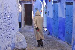 Chefchaouen town, Morocco Stock Image
