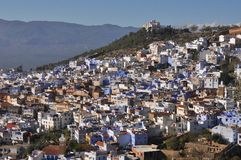 Chefchaouen town, Morocco Royalty Free Stock Photos