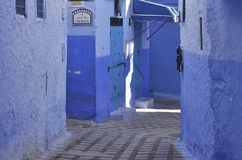 Chefchaouen town, Morocco Stock Photography