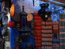 Chefchaouen, ville bleue du Maroc Photos libres de droits