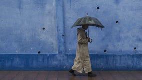 Chefchauen, città blu fotografie stock libere da diritti