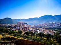 Chefchouen Morocco royalty free stock photography