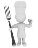 Chefcook Royalty Free Stock Photos