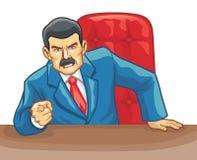 Chefe do escritório Fotos de Stock