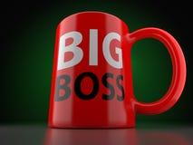 Chefe grande Red Cup Imagem de Stock