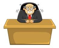 Chefe irritado, escritório, negócio Imagem de Stock Royalty Free