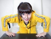 Chefe-menina Fotografia de Stock