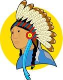 Chefe nativo Imagem de Stock