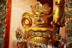 Chefen av de fyra konungarna och beskyddandet av norden i fyra hivar Arkivbilder