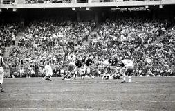 Chefer slåss anfallarna i Oakland, December 13, 1969 Royaltyfria Bilder