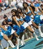 Chefes do NFL Kansas City contra panteras de Carolina Fotografia de Stock
