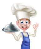 cheff dos desenhos animados 3d Imagem de Stock Royalty Free