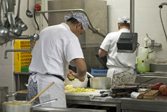 Chefkochen lizenzfreie stockbilder