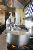 Chefkochen Stockfoto