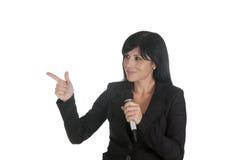 Chefmikrofon Lizenzfreies Stockfoto