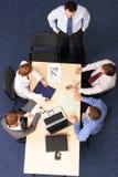 Chefrede bei der Sitzung Lizenzfreie Stockbilder