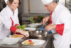 Chefs Royalty Free Stock Photography