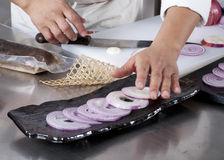 Chefs Cooking Royalty Free Stock Photography