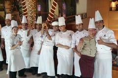 Chefs and cooks, Marriott Hotel, Deira Dubai Stock Photos