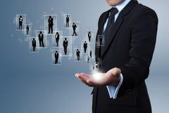 Chefs de file des affaires. image libre de droits