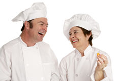 Chefs Having Fun Stock Photography