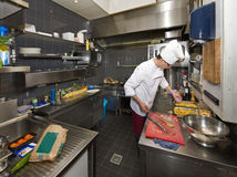 Chefs Kitchen Royalty Free Stock Photos