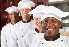 Chefs professionnels image stock