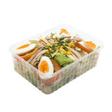 Chefs Salad To Go Stock Images